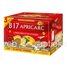 Buy B17 Apricarc With Apricot Oil 180 Capsules Price