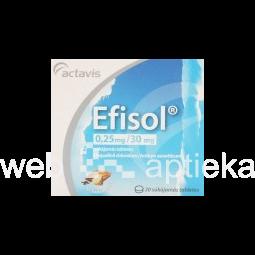 Efisol таблетки инструкция