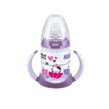 "NUK First choice - training bottle ""Hello Kitty"" with a spill-proof silicone spout for children of 6 months, 150ml"