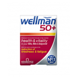 WELLMAN 50+ food supplement, 30 tablets