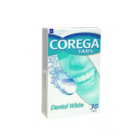 Corega Tabs Dental White denture cleaning tablets, N30
