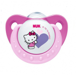 "NUK Silicone soother ""Hello Kitty"" - size 1. (0-6 months), N1"