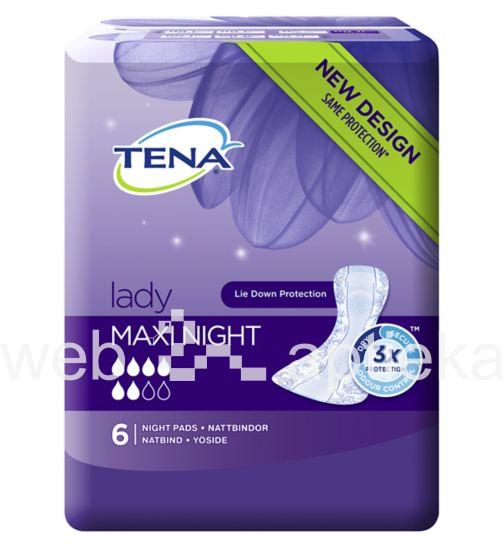 buy tena lady maxi night pads n6 price description. Black Bedroom Furniture Sets. Home Design Ideas